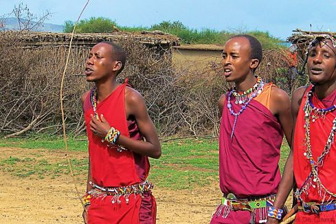 Masai village (1)