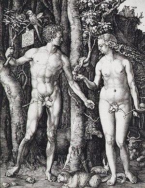 Albrecht Dürer - Adam en Eva