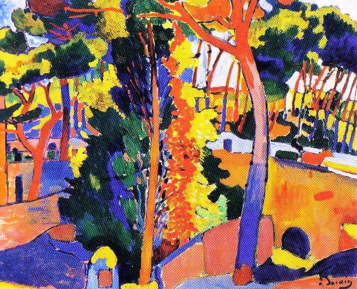 André Derain - Brug over de Riou - 1906