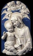 Andrea della Robbia - Maagd en Kind - 1498