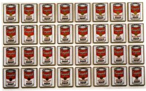 Andy Warhol - Campbell's-soep - 1962