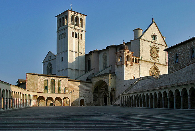 Assisi 04 (Basiliek van Sint-Fransiscus)