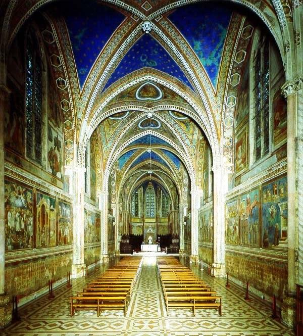 Assisi 11 (bovenkerk van de basiliek)