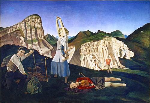 Balthus - De berg - 1937