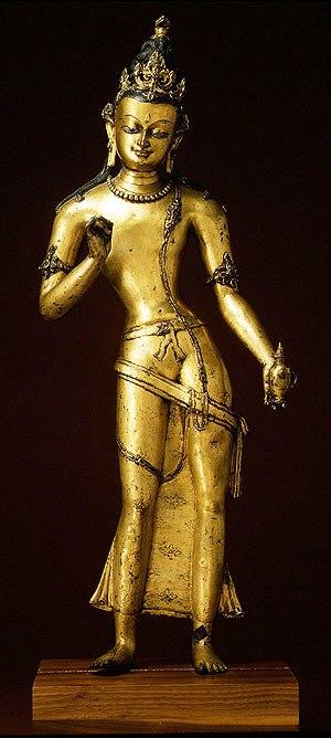 Boeddha van de toekomst - Nepal - 1100