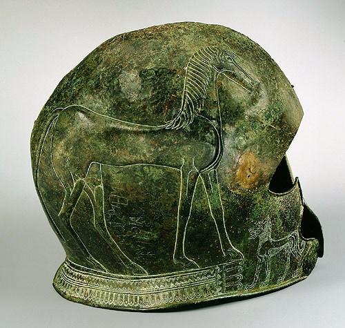 Bronzen helm - 650 v.C.