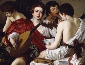 Caravaggio - De muzikanten - 1595
