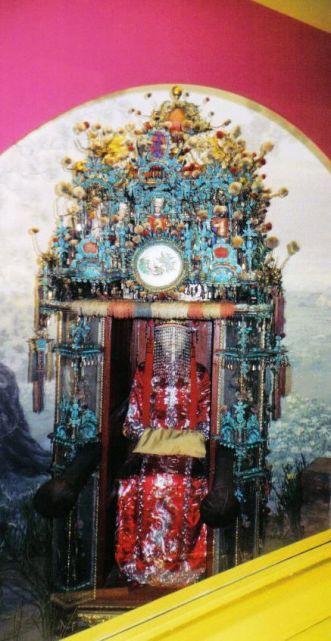 Chinese bruidsstoel