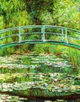 Claude Monet - Brug over een vijver met waterlelies - 1899