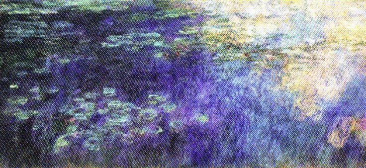 Claude Monet - Waterlelies - 1920