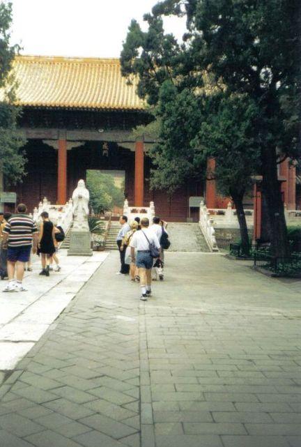 Confuciustempel 05 (beeld van Confucius)