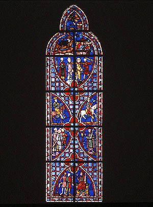 De passie van Sint-Vincentius - 1247