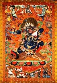Demon Yama - Tibet - 1640