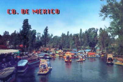 Drijvende tuinen van Xochimilco 02