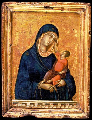 Duccio - Madonna met Kind - 1310
