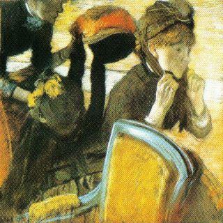 Edgar Degas - Bij de molenaar - 1882