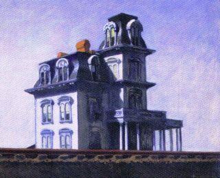 Edward Hopper - Huis aan de spoorweg - 1925