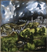 El Greco - Zicht op Toledo - 1602
