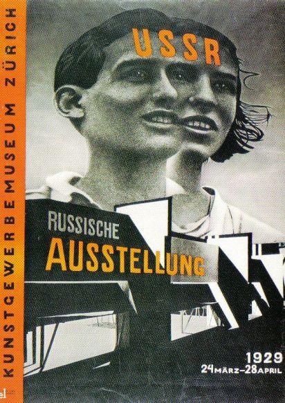 EL Lissitzky - U.S.S.R. Russische tentoonstelling - 1929