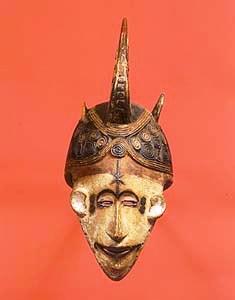 Ethnologisch museum 05 (Nigeriaans masker)