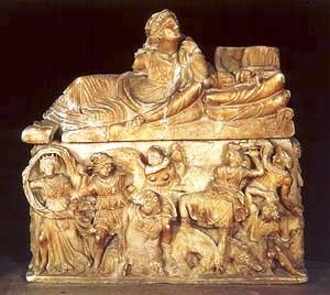 Etruskisch museum 07 (urne)
