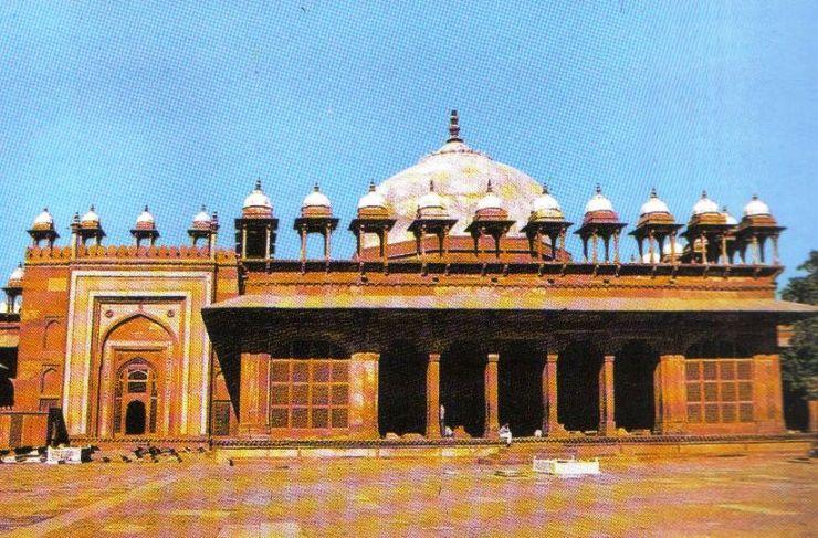 Fatehpur Sikri 09 (tombe van Islam Khan)