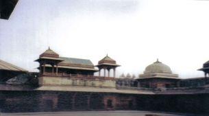 Fatehpur Sikri 12 (vertrekken van de echtgenote van de keizer)
