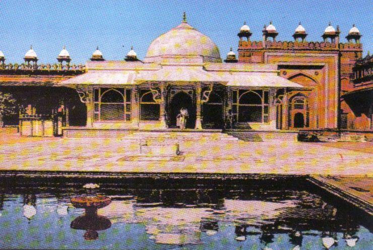 Fatehpur Sikri 17 (tombe van Salim Christhti)