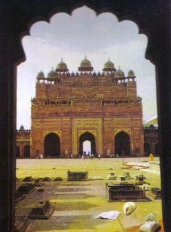 Fatehpur Sikri 19 (toegangspoort)