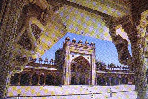 Fatehpur Sikri 23 (Jama Masjid-moskee)