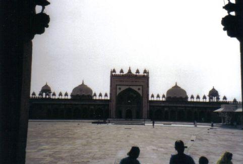 Fatehpur Sikri 24 (Jama Masjid-moskee)
