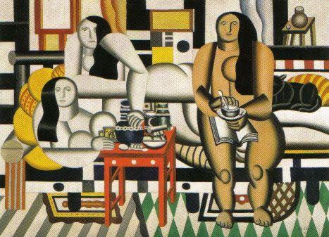 Fernand Lèger - Drie vrouwen - 1921