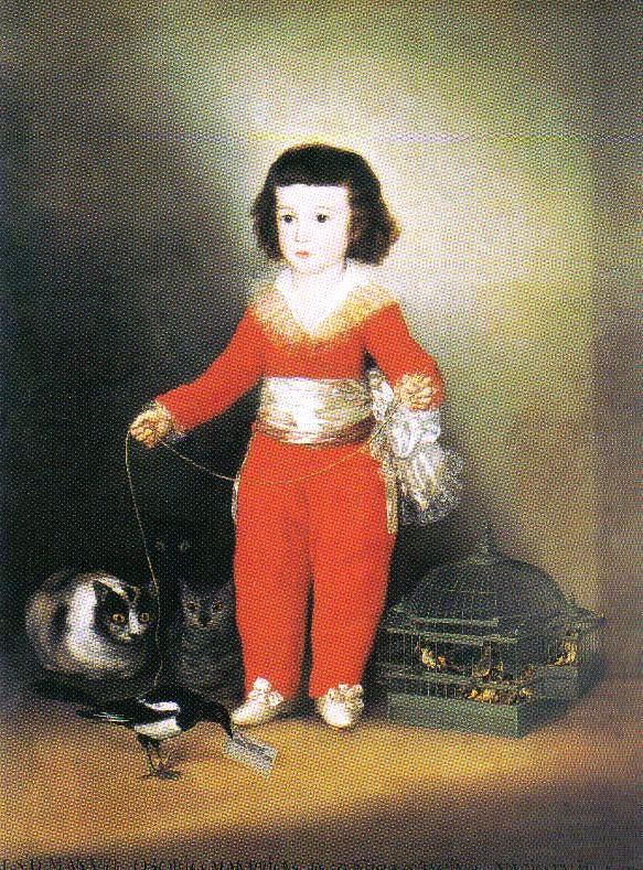Francisco de Goya - Don Manuel Osorio Manrique de Zuñiga