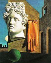 Giorgio de Chirico - Lied van de liefde - 1914