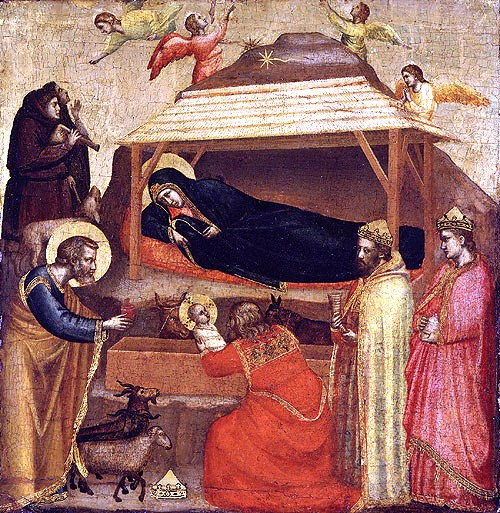 Giotto - De openbaring - 1320