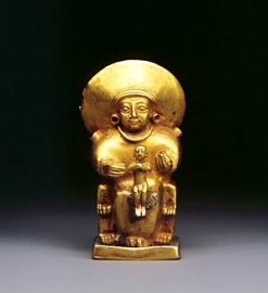 Godin met kind - Hittieten - 1300 v.C.