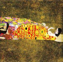 Gustav Klimt - Hoop II - 1907