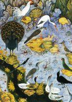 Habib Allah - Vogels aan de vijvers - 1592