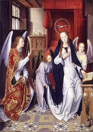 Hans Memling - De annunciatie - 1487