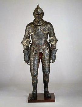 Harnas van koning Hendrik II van Frankrijk - 1552
