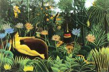 Henri Rousseau - De droom - 1910