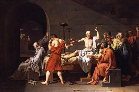 Jacques-Louis David - Dood van Socrates - 1787