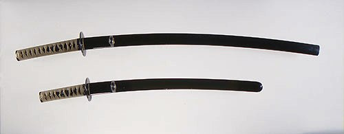 Japanse wakizashi (kort zwaard) en katana (lange zwaard) - 1440