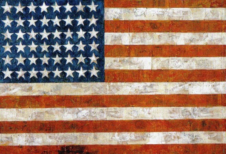 Jasper Johns - Vlag - 1955