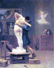 Jean-Léon Gérôme - Pygmalion en Galatea