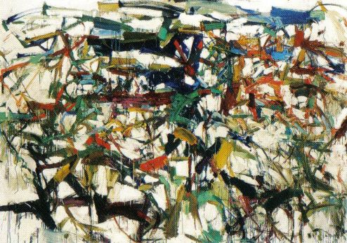 Joan Mitchell - Lieveheersbeestje - 1957