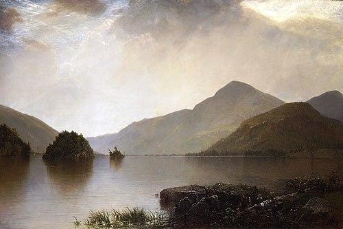 John F. Kensett - Lake George - 1869