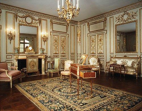 Kamer uit Hôtel de Cabris - 1777