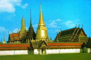 Koninklijk paleis 07 (Phra Si Rattana Chedi)