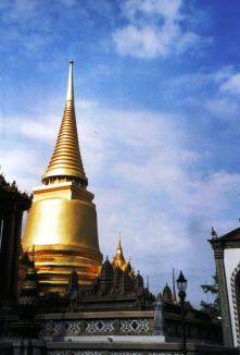 Koninklijk paleis 09 (Phra Si Rattana Chedi)